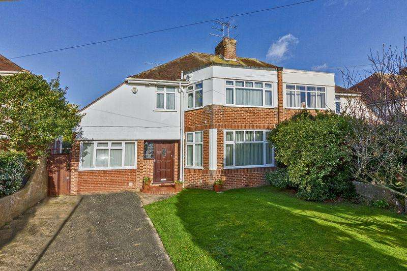 3 Bedrooms Semi Detached House for sale in Trent Road, Goring-by-Sea