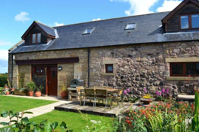 4 Bedrooms Semi Detached House for sale in Ladykirk Steading, Whitsome Hill, Duns, Berwickshire