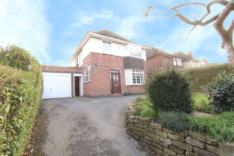 4 Bedrooms Detached House for sale in Russell Drive, Wollaton, Nottingham, NG8