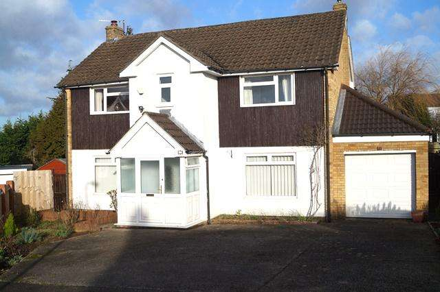 4 Bedrooms Detached House for sale in Lomond Crescent, Lakeside, Lakeside, Cardiff CF23