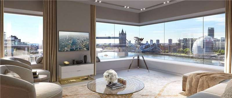 3 Bedrooms Flat for sale in Lower Thames Street, London, EC3R