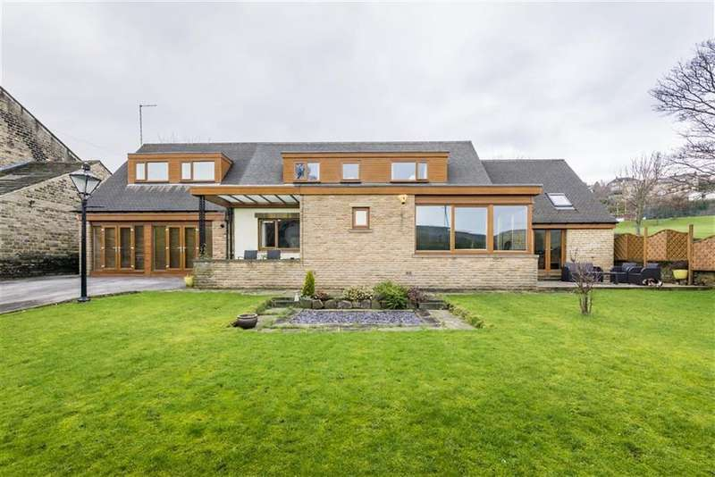 5 Bedrooms Detached House for sale in Burnlee Road, Holmfirth, Holmfirth, West Yorkshire, HD9