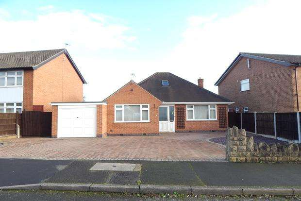 3 Bedrooms Detached Bungalow for sale in Oakwood Drive, Aspley, Nottingham, NG8