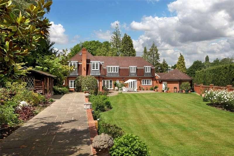 5 Bedrooms Detached House for sale in Titlarks Hill, Sunningdale, Ascot, Berkshire