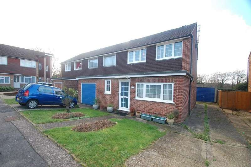 4 Bedrooms End Of Terrace House for sale in Norman Close, Wigmore, Rainham, ME8