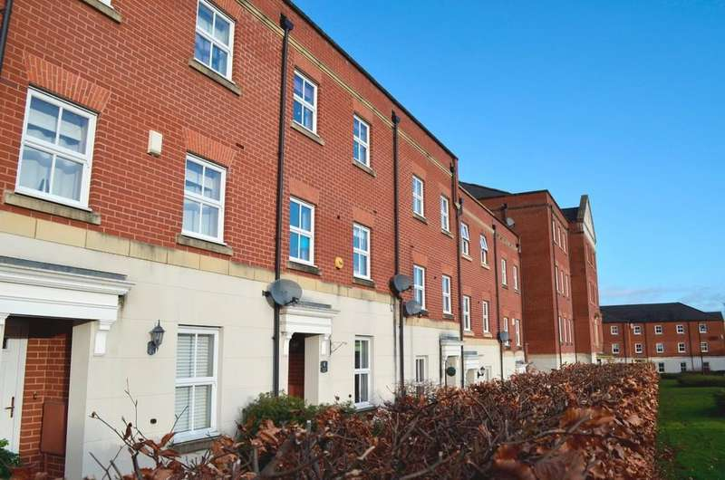 4 Bedrooms Town House for sale in Trunkfield Meadow, Lichfield