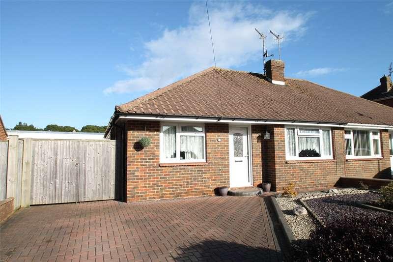 2 Bedrooms Semi Detached Bungalow for sale in Fircroft Crescent, Rustington, West Sussex, BN16
