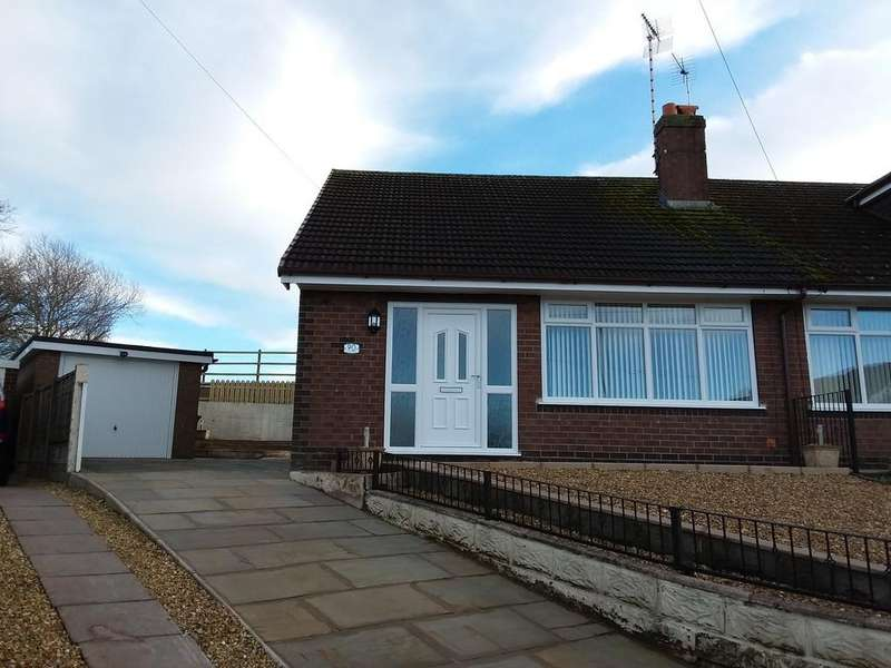 2 Bedrooms Semi Detached Bungalow for rent in Brown Avenue, Church Lawton