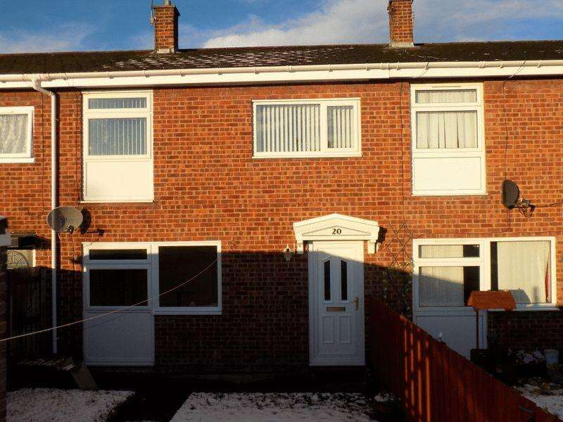 3 Bedrooms Terraced House for sale in Briardale, Bedlington