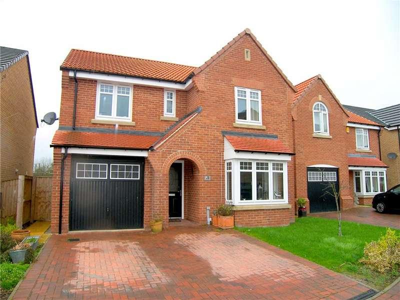 4 Bedrooms Detached House for sale in Oak View Gardens, Morton, Alfreton, Derbyshire, DE55