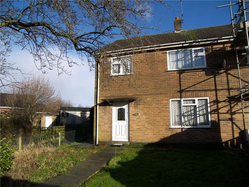 3 Bedrooms End Of Terrace House for sale in Melbourne Close, Belper, Derbyshire, DE56