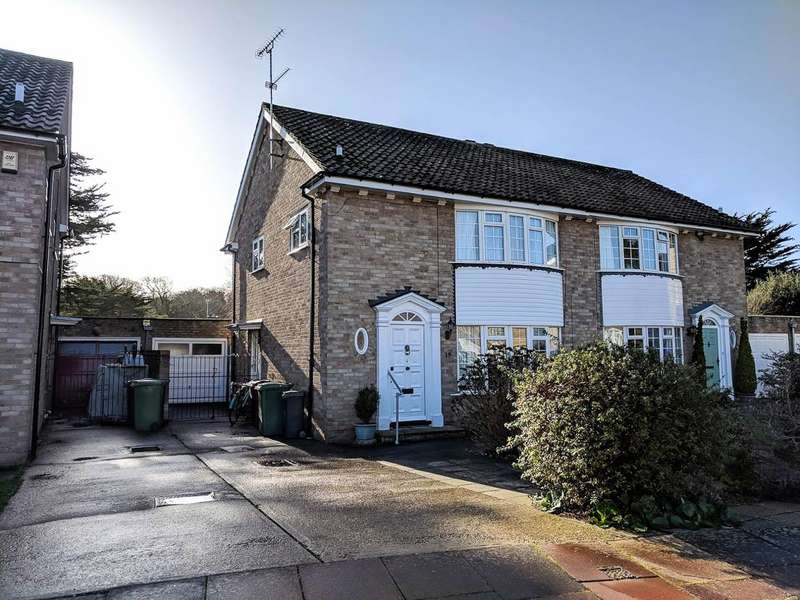 3 Bedrooms Semi Detached House for sale in Firwood Close, Eastbourne