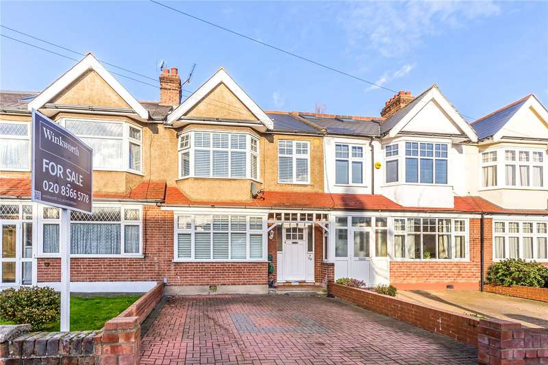 3 Bedrooms Terraced House for sale in Chase Side Avenue, Enfield, EN2