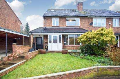 3 Bedrooms Semi Detached House for sale in Gaddesden Crescent, Watford, Hertfordshire, .