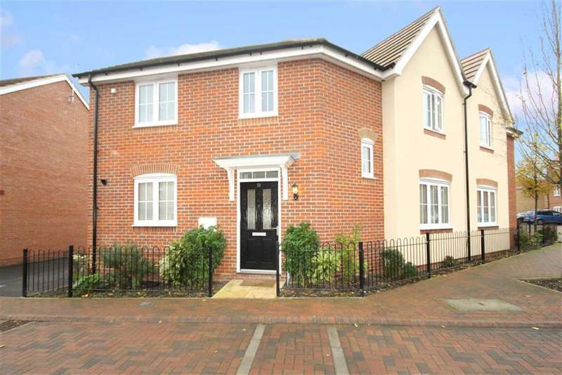 3 Bedrooms Semi Detached House for sale in Wheatcroft Way, The Sidings, Wiltshire