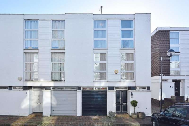 4 Bedrooms End Of Terrace House for sale in Brocas Close, Belsize Park