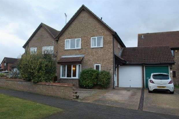 3 Bedrooms Detached House for sale in Mendip Road, Duston, Northampton NN5 6AZ