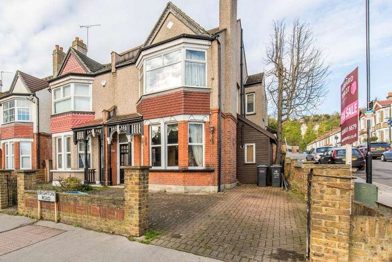3 Bedrooms End Of Terrace House for sale in Brighton Road, South Croydon, Surrey, CR8 2BA