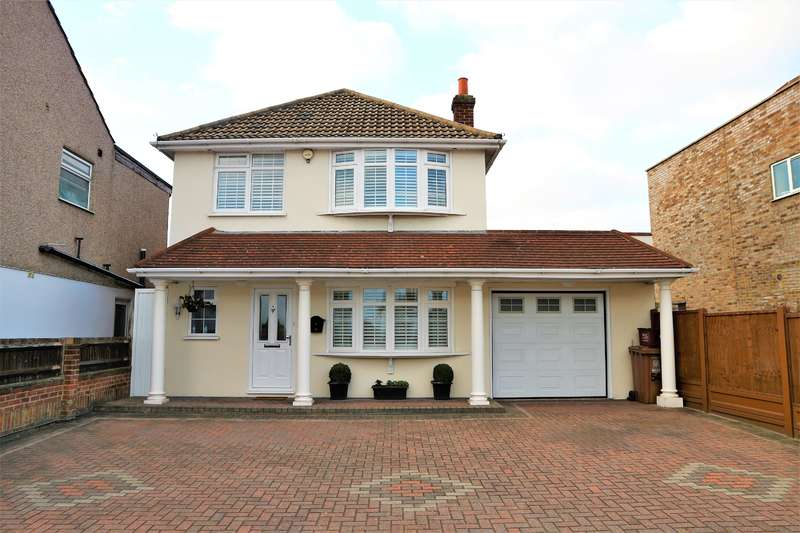 3 Bedrooms Detached House for sale in Mayplace Road West, Bexleyheath, Kent, DA7 4JJ