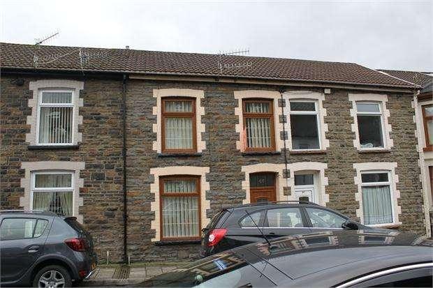 3 Bedrooms Terraced House for sale in Rhys Street, Trealaw, Tonypandy, Rhondda Cynon Taff. CF40 2QE