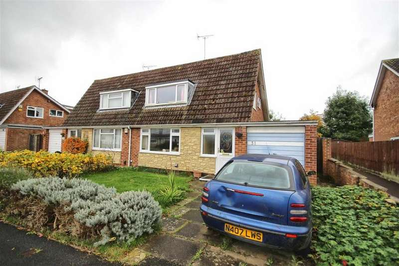 3 Bedrooms Semi Detached House for sale in Fernleigh Crescent, Up Hatherley, Cheltenham, GL51