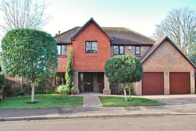 5 Bedrooms Detached House for sale in Winterpit Close, Mannings Heath, RH13