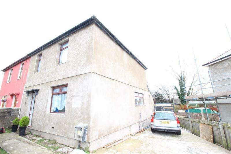 3 Bedrooms Semi Detached House for sale in The Crescent, Bedwas, Caerphilly