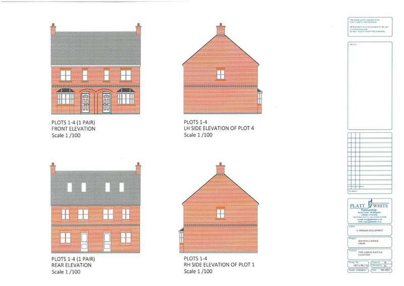 3 Bedrooms Town House for sale in Hightown, Crewe