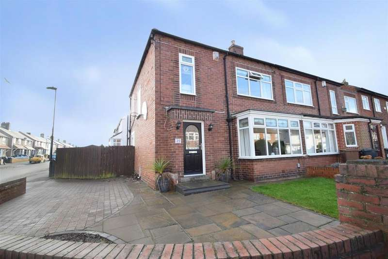 3 Bedrooms Semi Detached House for sale in Valley Gardens, Whitley Bay