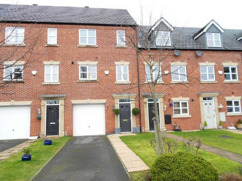 3 Bedrooms Town House for sale in Ursuline Way, Crewe, Cheshire