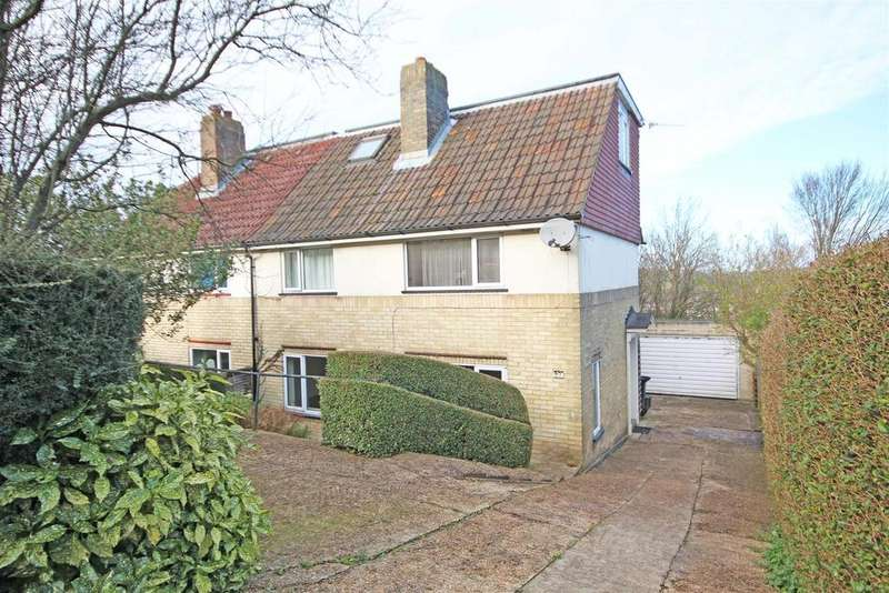 4 Bedrooms Semi Detached House for sale in Lyminster Avenue, Hollingbury, Brighton