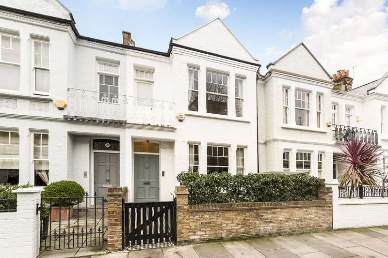 4 Bedrooms Terraced House for sale in Hurlingham Road, Parsons Green, Fulham, London, SW6
