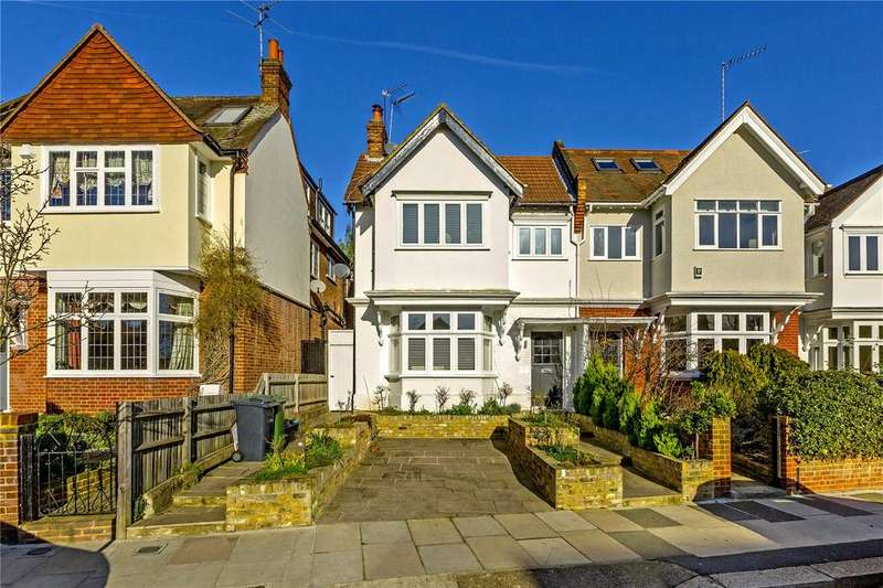 3 Bedrooms Flat for sale in Vicarage Road, East Sheen, London, SW14