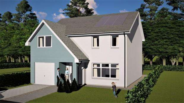 4 Bedrooms Detached House for sale in Keilor Fields Keilor Way, Inverkeilor, Arbroath, DD11