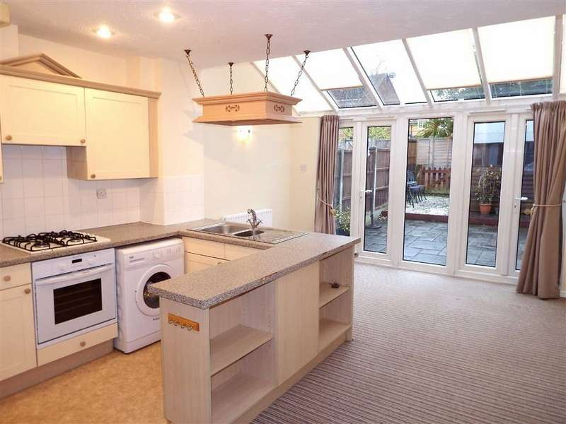 2 Bedrooms Terraced House for sale in Wansbeck Close, Stevenage, Hertfordshire, SG1