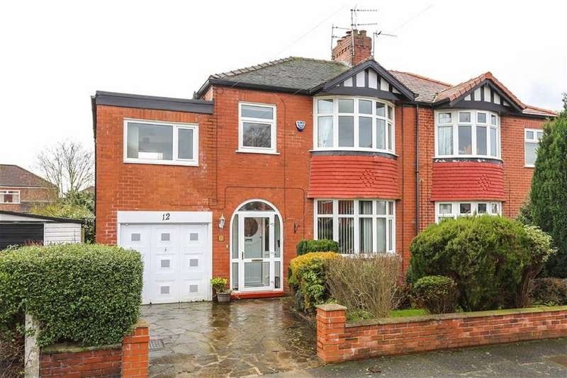 4 Bedrooms Semi Detached House for sale in Brookfold Road, Heaton Chapel