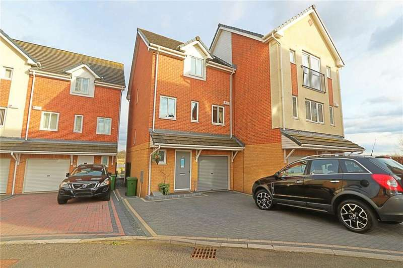 4 Bedrooms Semi Detached House for sale in Willow Sage Court, Farriers Park