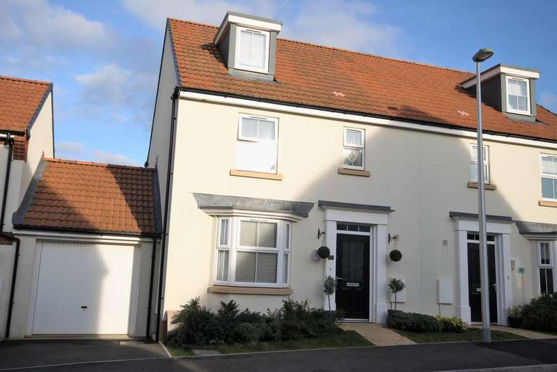 4 Bedrooms Semi Detached House for sale in Cambridge Way, Cullompton EX15