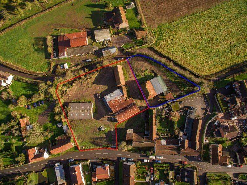 Residential Development Commercial for sale in Site with consent for 3 large new dwellings plus 2 barn conversions. Available as a whole or in two lots.