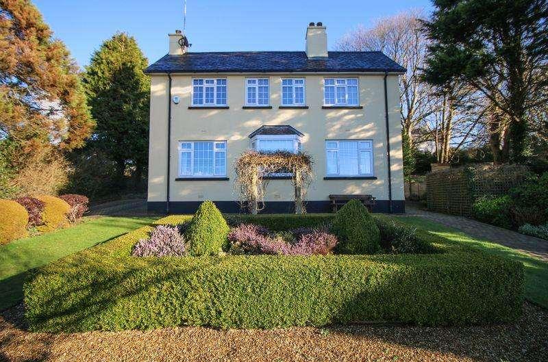 4 Bedrooms Detached House for sale in Freshfields, Main Road, Glen Vine