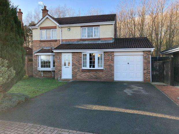 4 Bedrooms Detached House for sale in MILLSTON CLOSE, NAISBERRY PARK, HARTLEPOOL