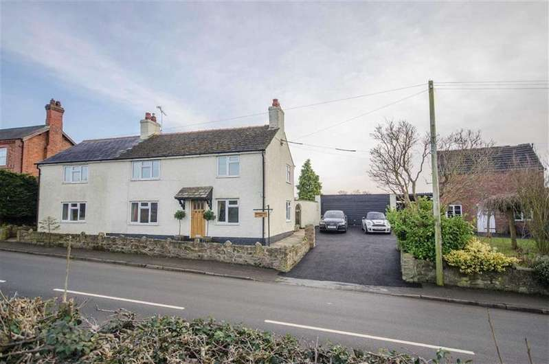 5 Bedrooms Detached House for sale in Wrexham Road, Malpas, Cheshire, Malpas