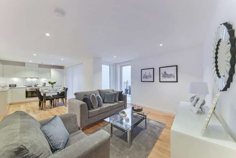 3 Bedrooms Flat for rent in Hand Axe Yard, 277a Gray's Inn Road, London, WC1X