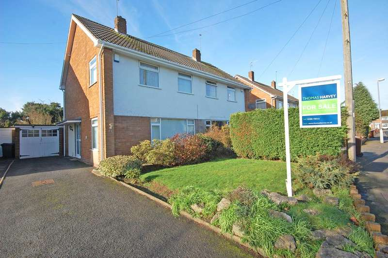 3 Bedrooms Semi Detached House for sale in Trysull Gardens, Merryhill, Wolverhampton WV3