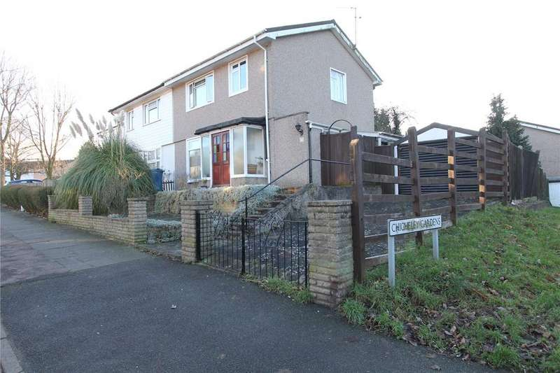 3 Bedrooms Semi Detached House for sale in Chicheley Road, Harrow, HA3