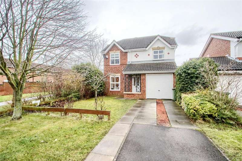 4 Bedrooms Detached House for sale in Holburn Park, Stockton-on-Tees