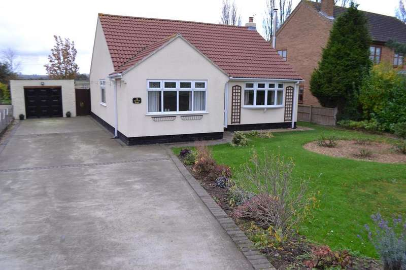 3 Bedrooms Detached Bungalow for sale in Station Road, Burringham, Scunthorpe, North Lincolnshire, DN17