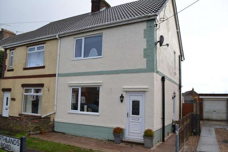 2 Bedrooms Semi Detached House for sale in Northlands Road, Winterton, North Lincolnshire, DN15