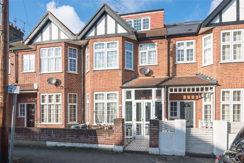 5 Bedrooms Terraced House for sale in Stuart Road, Southfields, London, SW19