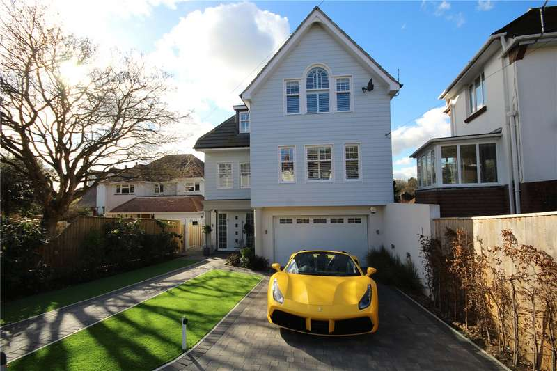 4 Bedrooms Detached House for sale in Harbour View Road, Ashley Cross, Parkstone, Poole, BH14